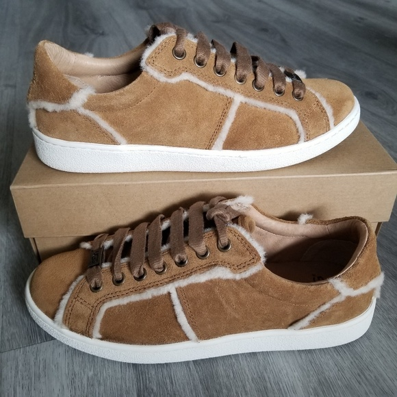 f73fa570427 UGG Milo Spill Seam Suede Sneakers NWT